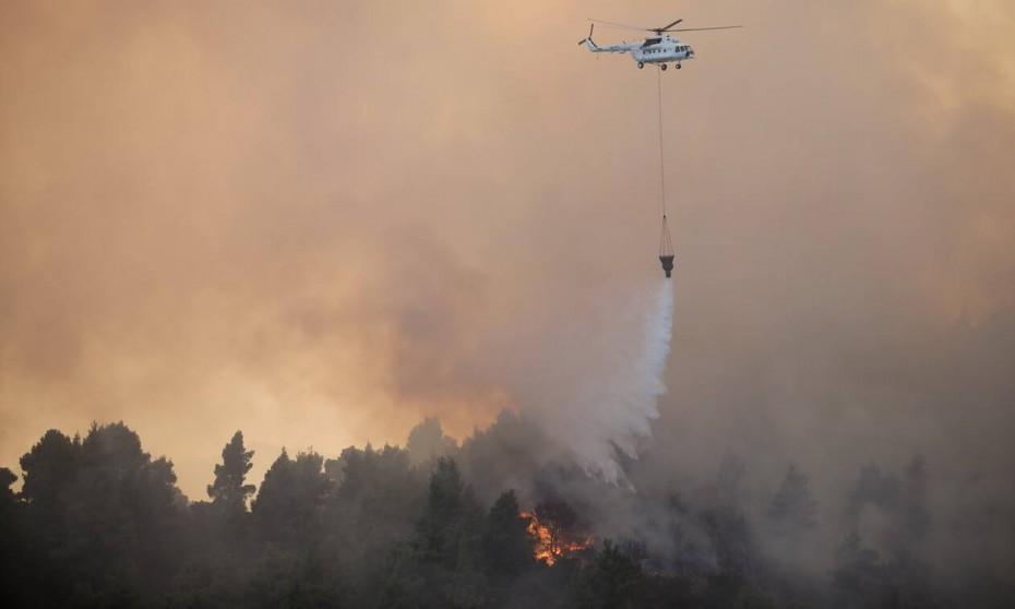 Το χειρότερο σενάριο για την πυρκαγιά στην Εύβοια (βίντεο)