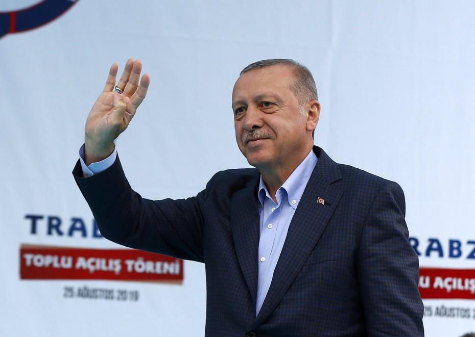 Απειλών συνέχεια από τον Ερντογάν για την ανατολική Μεσόγειο