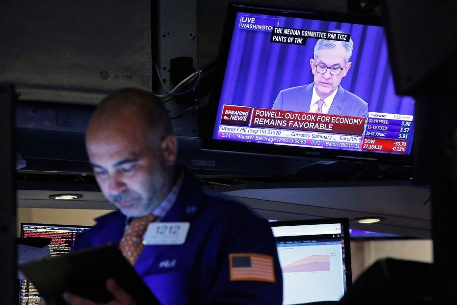 Κέρδη στη Wall Street με το βλέμμα στη Fed