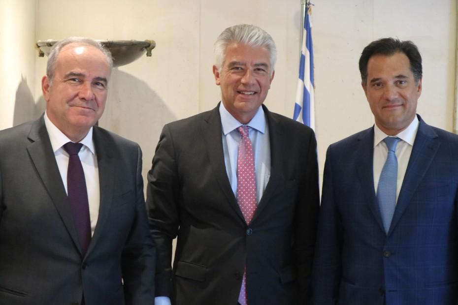 Γερμανικές επενδύσεις στην Ελλάδα στη συνάντηση Γεωργιάδη - Ράιχελ