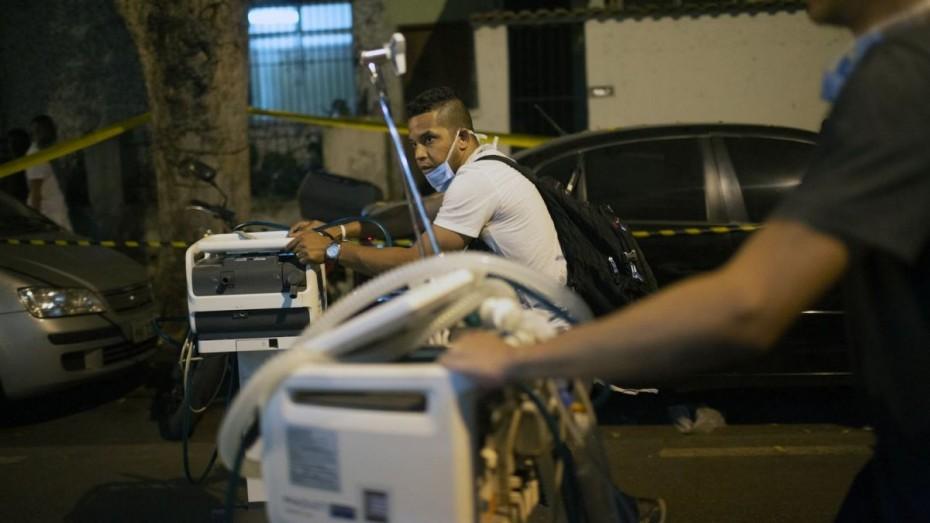 Τουλάχιστον 10 νεκροί από φωτιά σε νοσοκομείο της Βραζιλίας