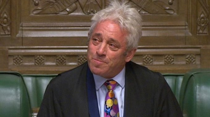 Αποσύρεται ο πρόεδρος της Βουλής των Κοινοτήτων στη Βρετανία