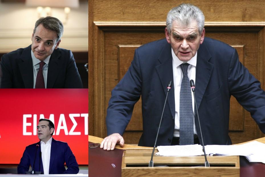 ΝΔ για Novartis: Γιατί βγήκε από το «κάδρο» ο Τσίπρας αλλά όχι ο Παπαγγελόπουλος
