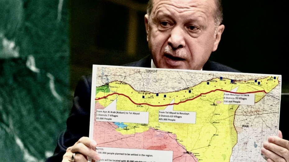 Ερντογάν: Θα «χτυπήσουμε» πάλι, εάν οι ΗΠΑ δεν άρουν τις κυρώσεις