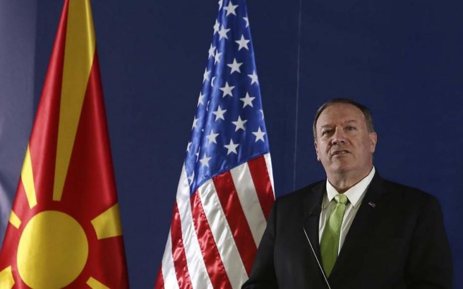 Παρά την ΕΕ, οι ΗΠΑ επιβεβαίωσαν την είσοδο των Σκοπίων στο NATO