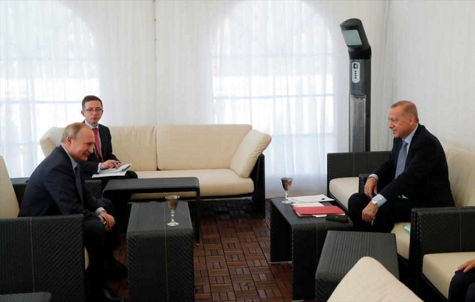 Πούτιν και Ερντογάν δεν ασχολήθηκαν με τα εξοπλιστικά, λέει το Κρεμλίνο