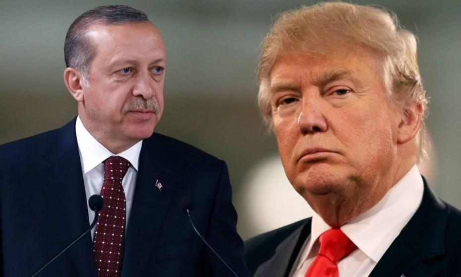 Τραμπ σε Ερντογάν: Να σταματήσεις τώρα την εισβολή στη Συρία