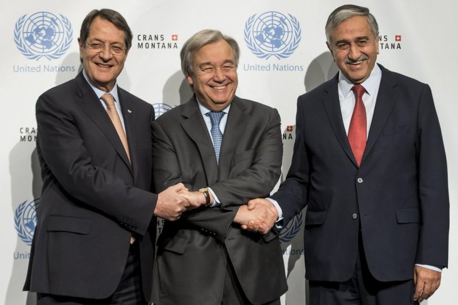 Άτυπη τριμερής για το Κυπριακό στο Βερολίνο