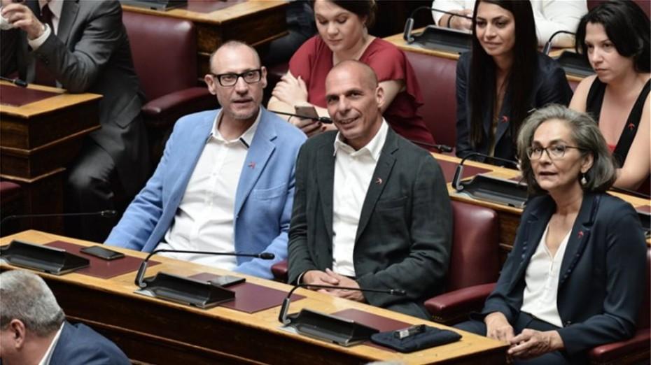 «Παρών» από το ΜέΡΑ25 στην ψηφοφορία για τον Παπαγγελόπουλο