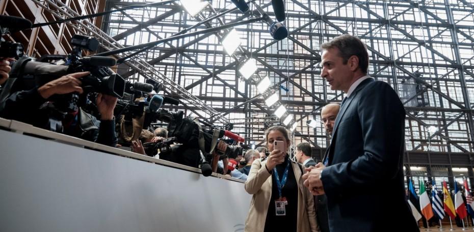 Υψηλοί τόνοι από Μητσοτάκη προς Τουρκία στη Σύνοδο Κορυφής