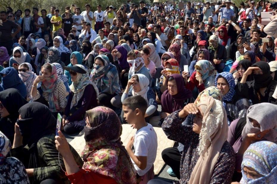 Σχεδόν τριπλασιάστηκαν οι πρόσφυγες στη Λέσβο μέσα 3 μήνες