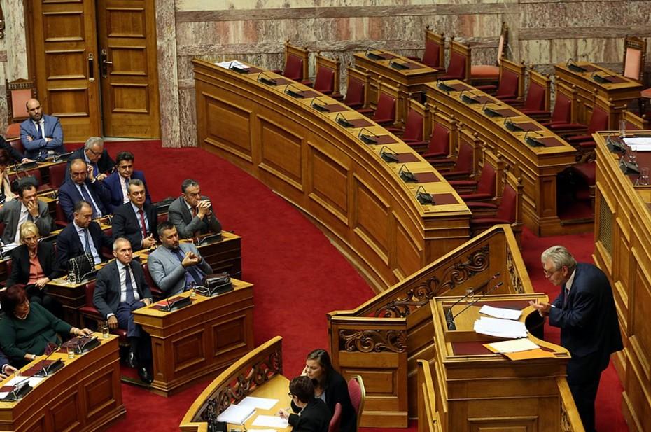 Οι βουλευτές ΝΔ και ΣΥΡΙΖΑ στην προανακριτική για Παπαγγελόπουλο
