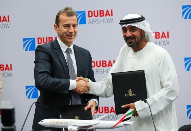 Συμφωνία ύψους 16 δισ. δολαρίων Emirates - Airbus