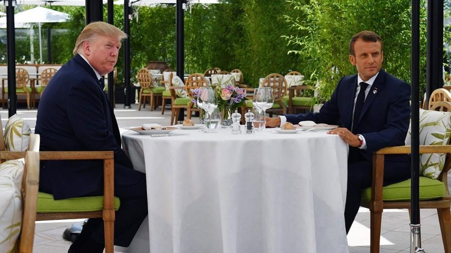 Επικοινωνία Μακρόν με Τραμπ για τη Συρία