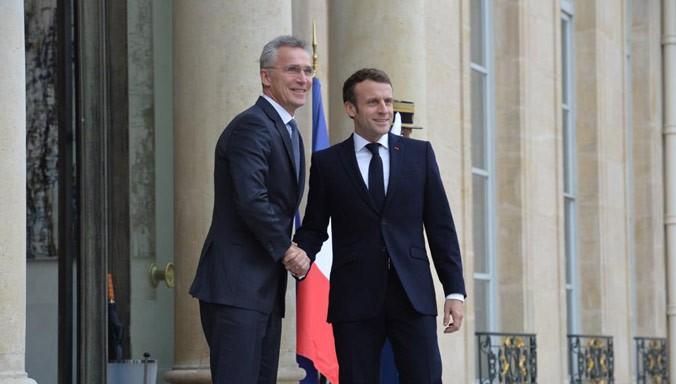 Νέες απειλές Μακρόν προς το NATO, για τα χρήματα της Γαλλίας