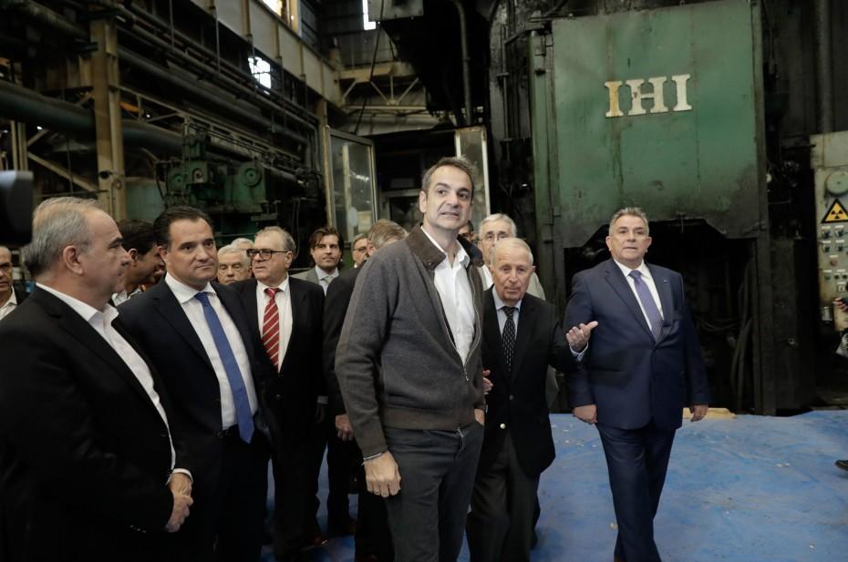 Κ. Μητσοτάκης: Σημάδι επαναβιομηχάνισης το άνοιγμα κλειστών εργοστασίων