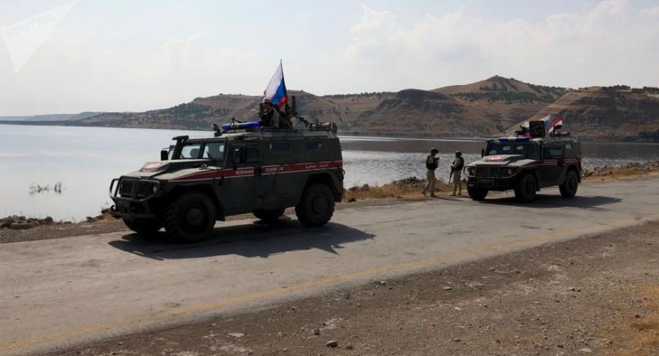 Ξεκίνησαν οι κοινές περιπολίες Ρωσίας και Τουρκίας στη Συρία