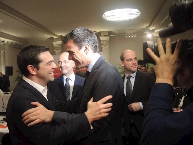 Ικανοποίηση ΣΥΡΙΖΑ για τη συνεργασία PSOE - Podemos στην Ισπανία