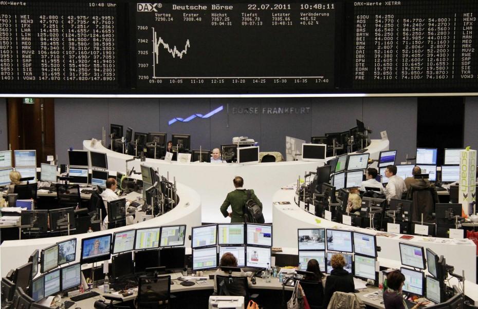 Ήπια κέρδη στην Ευρώπη περιμένοντας την ΕΚΤ
