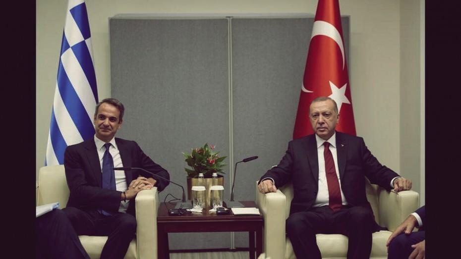 Μητσοτάκης: Με τον Ερντογάν... «θα μιλήσουμε με ανοιχτά χαρτιά»