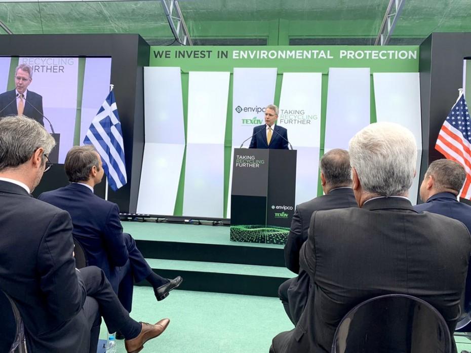 Νέο μήνυμα Πάιατ για ενίσχυση τη συνεργασίας Ελλάδας - ΗΠΑ στα ενεργειακά