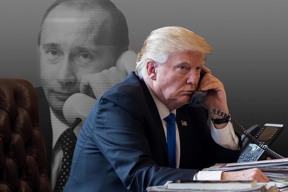 Τρομοκρατία και εξοπλιστικά σε επικοινωνία του Τραμπ με τον Πούτιν