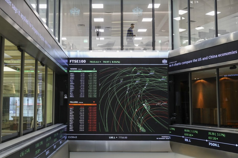 Σε νευρικό κλίμα οι ευρωαγορές για την Πέμπτη