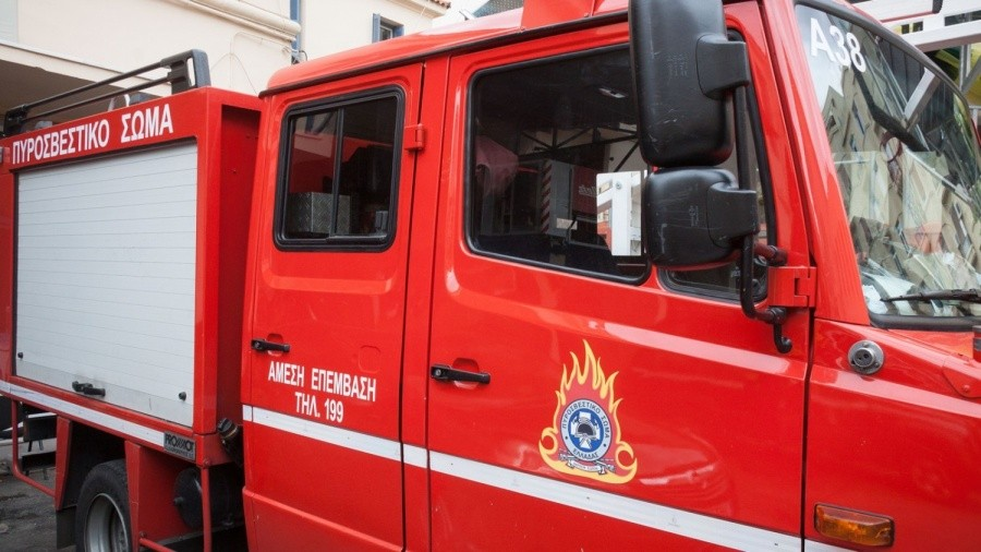 Πυρκαγιά σε διαμέρισμα στα Μελίσσια