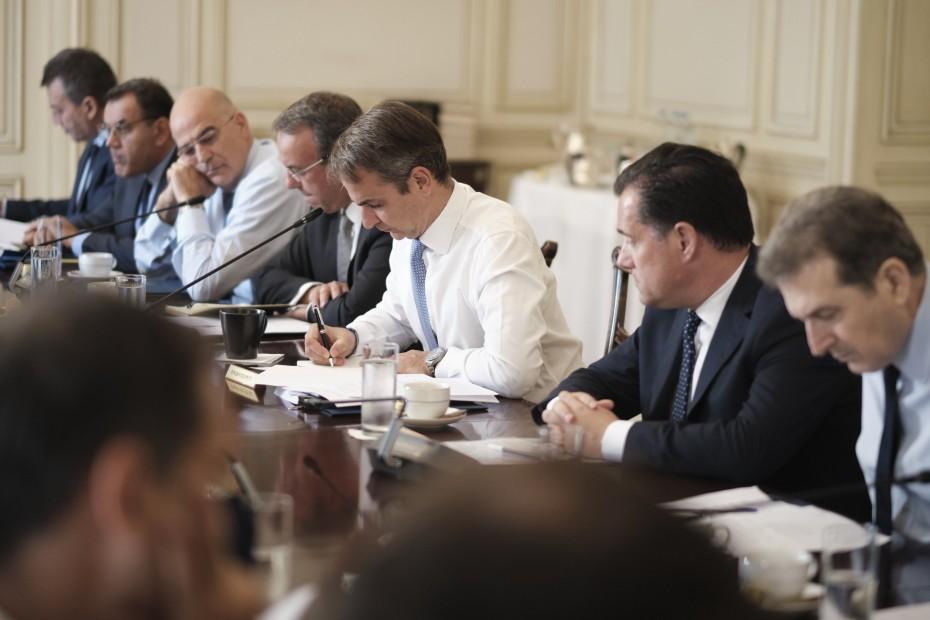 Συνεδρίαση του υπουργικού συμβουλίου την Πέμπτη στο Μαξίμου