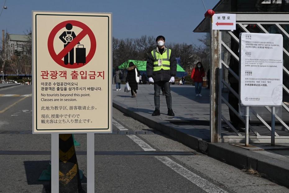 Πάνω από 100 τα κρούσματα του κοροναϊού στη Νότια Κορέα
