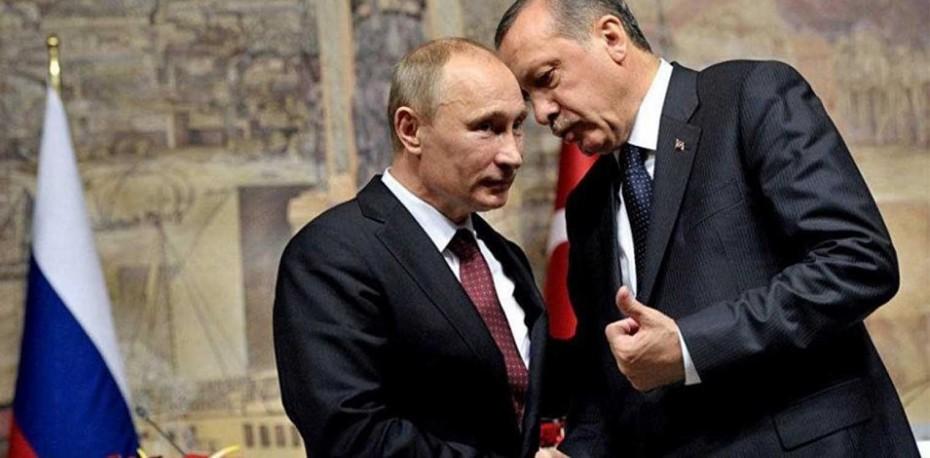 Πούτιν-Ερντογάν: Συντονισμός για εξομάλυνση της κατάστασης στο Ιντλίμπ