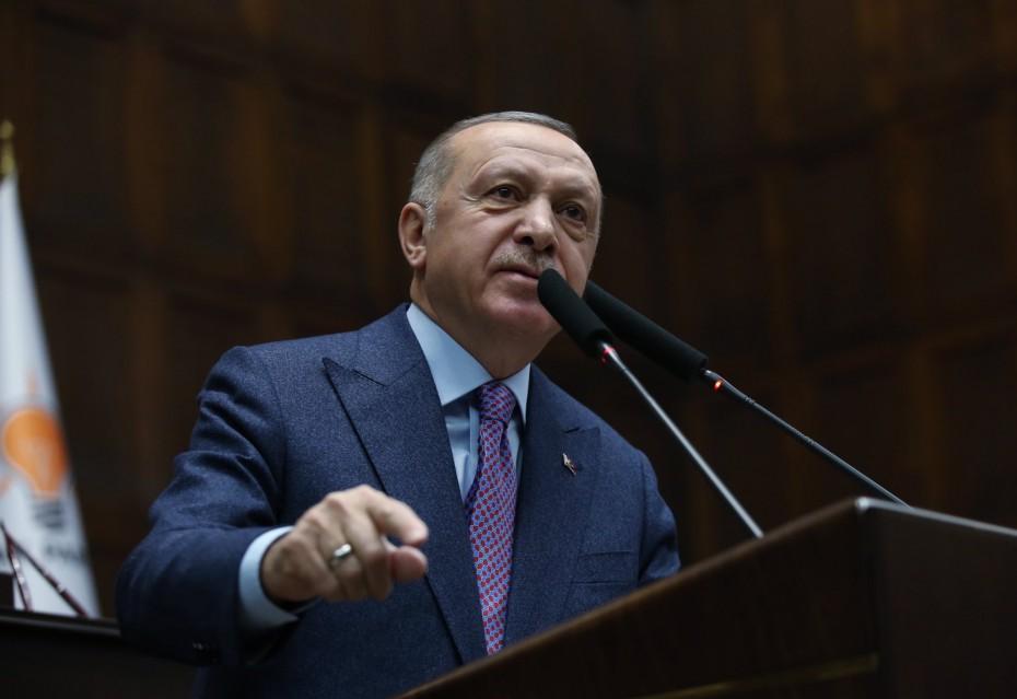 Ερντογάν: Η Ελλάδα έχει αρχίσει και αποδέχεται το καθεστώς στη Μεσόγειο