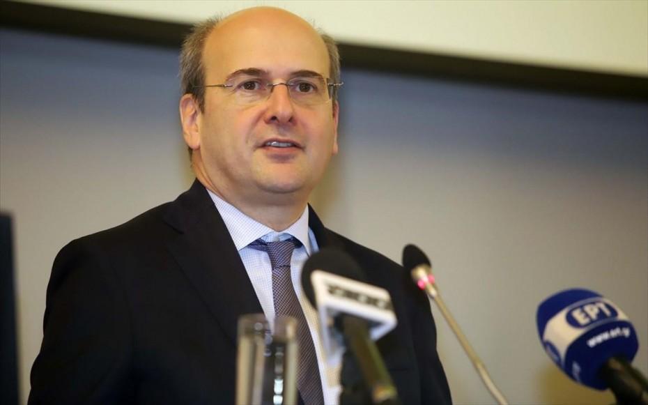 Χατζηδάκης: Υποκρισία του ΣΥΡΙΖΑ για τον λιγνίτη