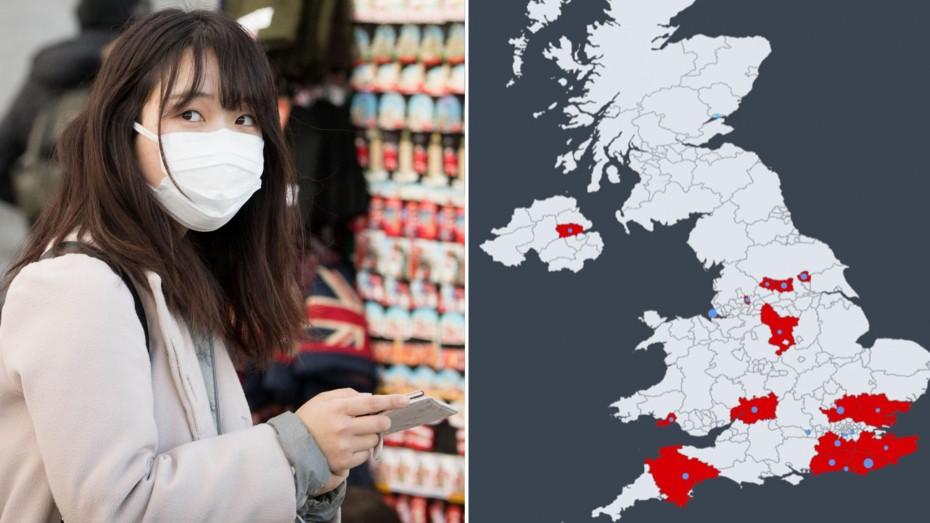 Η Βρετανία θέτει περιορισμούς στις μετακινήσεις λόγω του κοροναϊού
