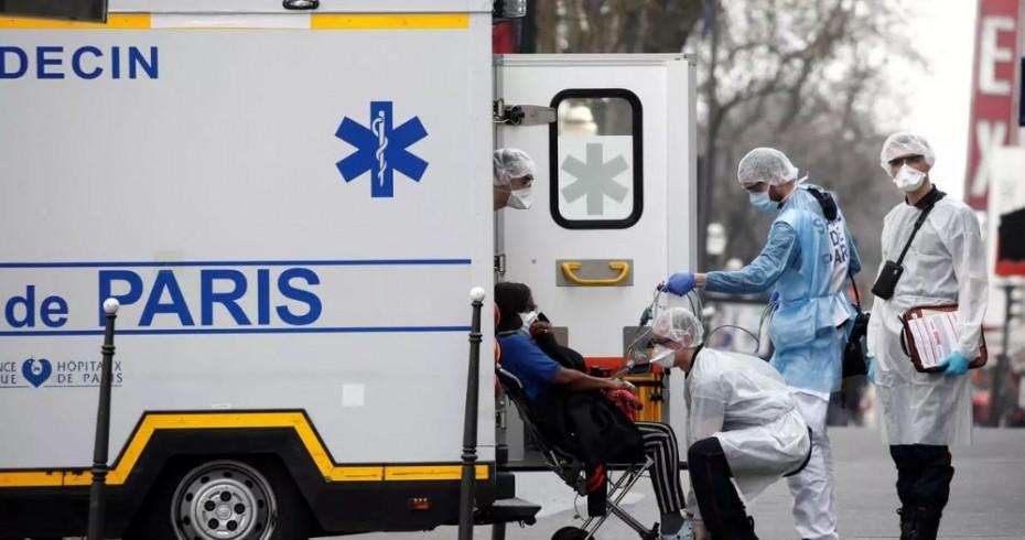 Σχεδόν 1.700 οι νεκροί από τον κοροναϊό στη Γαλλία