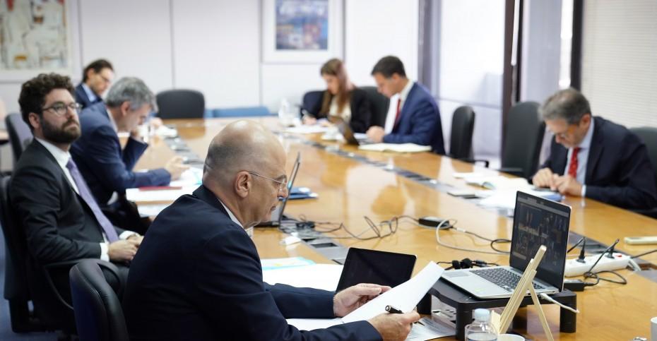 Επικοινωνία Δένδια με τους ΥΠΕΞ Κύπρου και Ιορδανίας την Τετάρτη