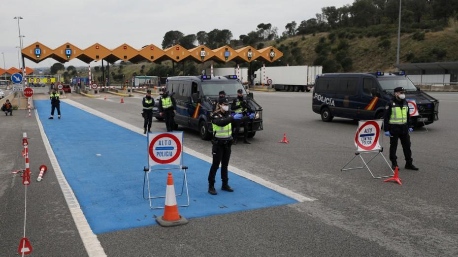 Η Ισπανία ανοίγει τα χερσαία σύνορα της στις 22 Ιουνίου