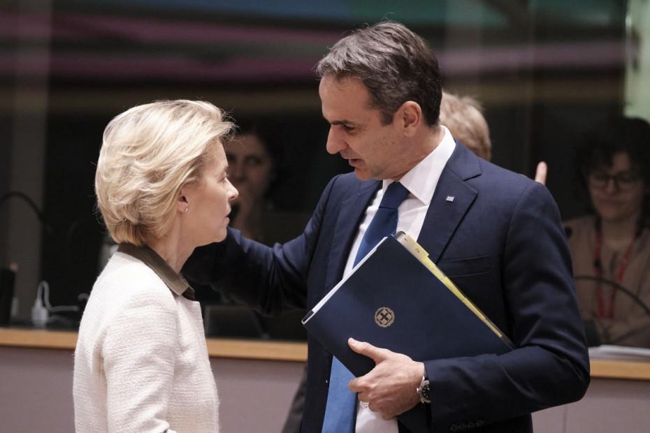 Ελληνοτουρκικά: Ηχηρό μήνυμα Μητσοτάκη σε ΕΕ με επιστολή στην Ούρσουλα φον ντερ Λάιεν