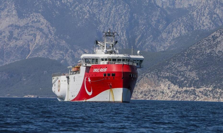 Το Oruc Reis ετοιμάζεται για τα νότια του Καστελόριζου, γράφουν οι Τούρκοι