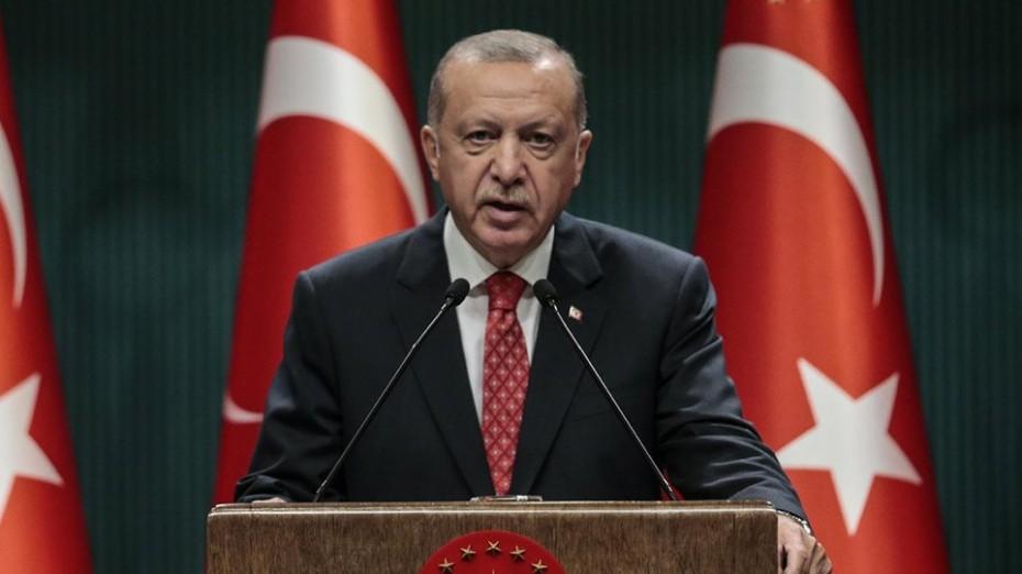 Ερντογάν: Δεν θα φυλακιστούμε στις ακτές μας