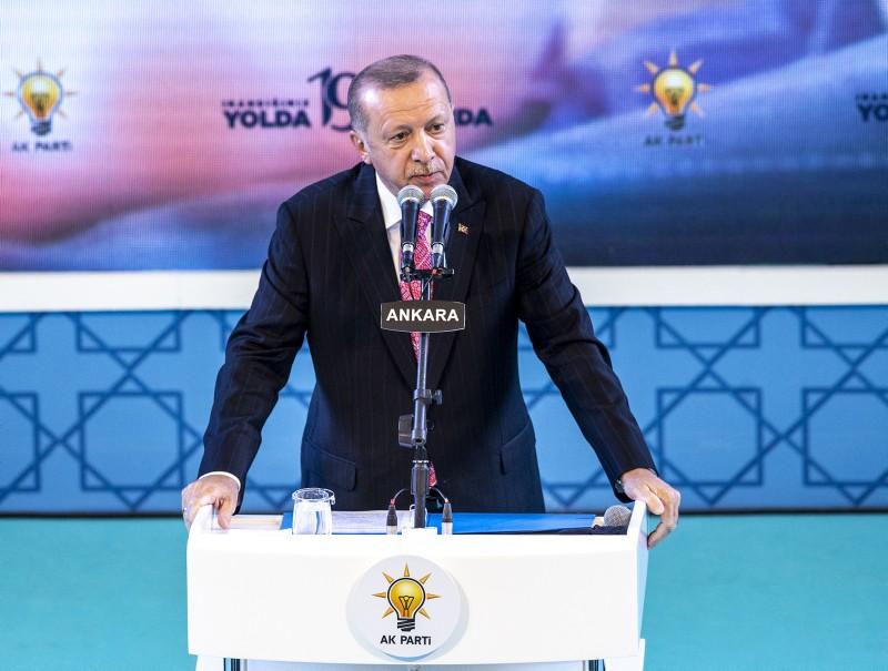 Ο Ερντογάν συνεχίζει την προπαγάνδα κατά της Ελλάδας