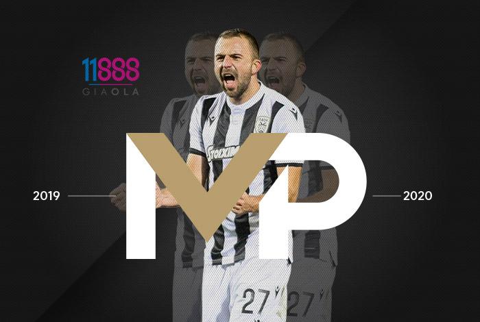 Ο Μίσιτς MVP της σεζόν για τον ΠΑΟΚ