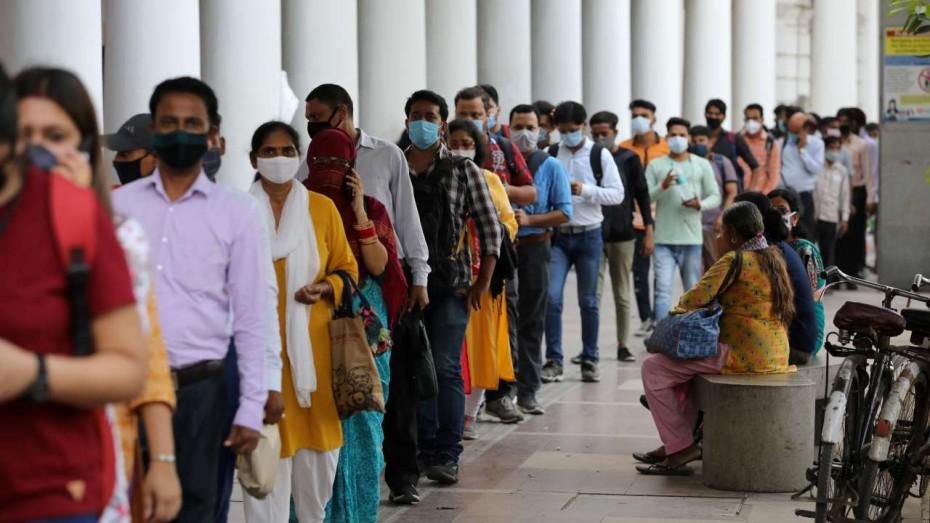Πάνω από 96.000 τα νέα κρούσματα του κορονοϊού στην Ινδία