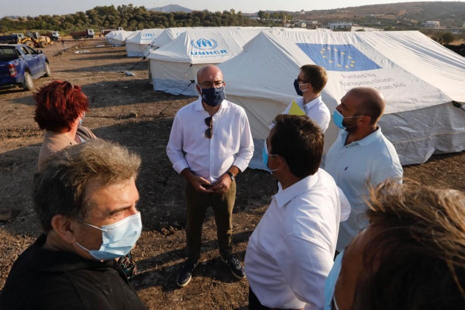 Τις «επόμενες μέρες» οι αποφάσεις της ΕΕ για τους μετανάστες από τη Μόρια