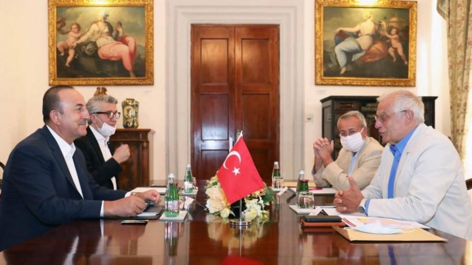 Νέα επικοινωνία Μπορέλ και Τσαβούσογλου για την Ανατολική Μεσόγειο