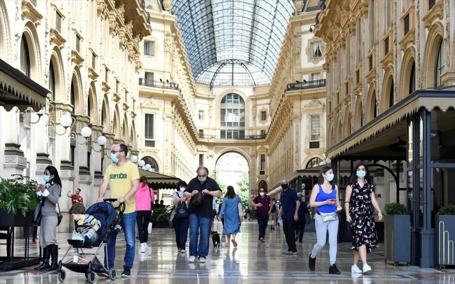 Σπάνε το ένα φράγμα μετά το άλλο τα ημερήσια κρούσματα στην Ιταλία