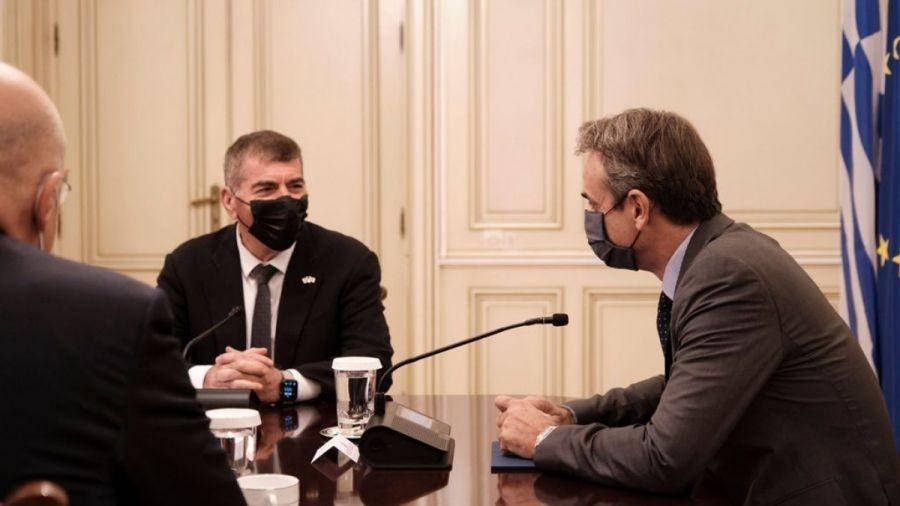Οι τουρκικές προκλήσεις στη συνάντηση Μητσοτάκη με τον ΥΠΕΞ του Ισράηλ