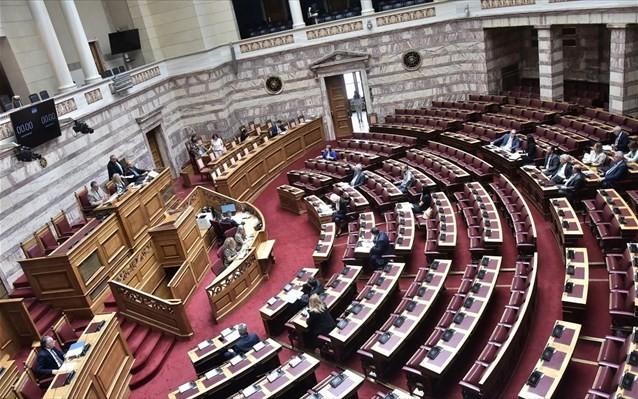 Ολοκληρώθηκε η συζήτηση για το προσχέδιο του προϋπολογισμού στη Βουλή