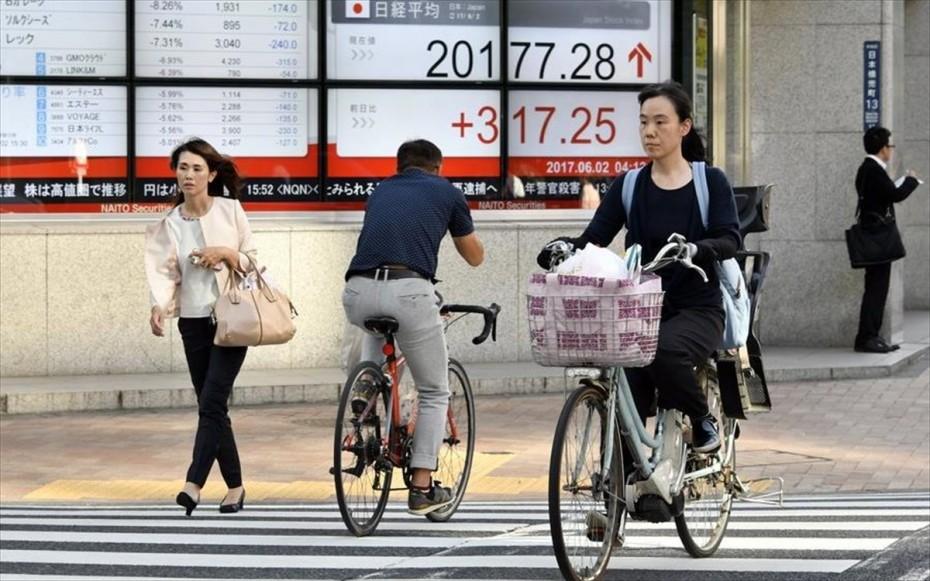 Μεικτά πρόσημα στην Ασία - Στο «βαθύ κόκκινο» οι τεχνολογικές