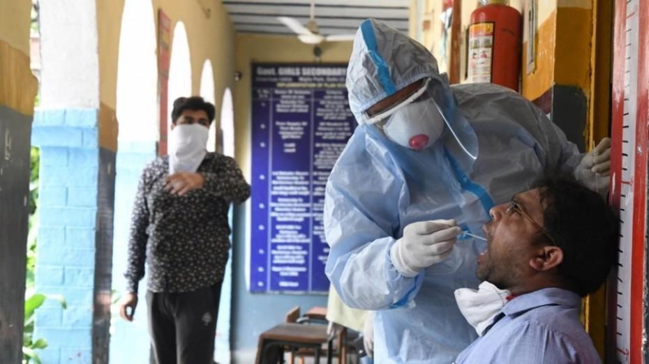 Κοντά σε χαμηλό 2 εβδομάδων τα νέα κρούσματα του κορονοϊού στην Ινδία